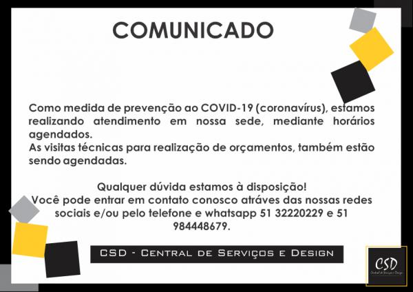 COMUNICADO DE ATENDIMENTO